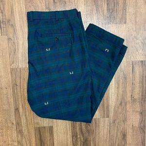 Brooks Brothers Plaid Dress Slacks Pants 40x30